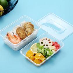 처분할 수 있는 음식 콘테이너 플라스틱 Bento 상자 마이크로파 도시락