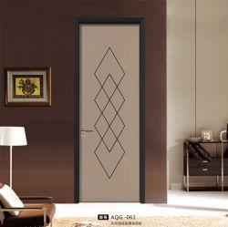 나무로 되는 위원회 알루미늄 프레임 디자인 여닫이 창 Eco 문