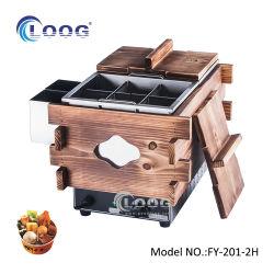 機械製造業者に商業Odenメーカー機械をする広州電気Odenの食糧西部の台所レストランのための台湾のOden
