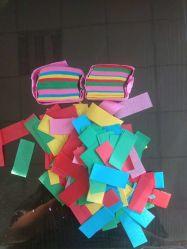 Reispapier Rechteckig Geformt Showsea Biologisch Abbaubar Custom Shredded Confetti Bachelorette Hochzeit Wurfpapier Konfetti