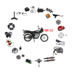 남아메리카 시장 일반 오토바이 액세서리 사파이어 파트 브레이크 핸들 바자즈 복서 Bm150용 클러치 브레이크 레버 제어