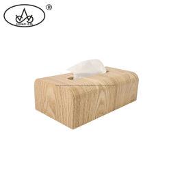 Walnuss-Serviette-Papier innerhalb hohe Kapazitäts-des umweltfreundlichen hölzernen Serviette-Halter-Abschminktuch-Kastens