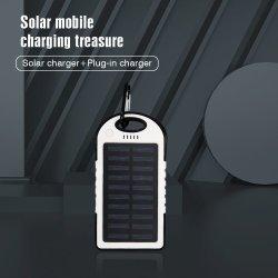 Новый Powerbank солнечной энергии является водонепроницаемым 4000Мач солнечного зарядного устройства внешнего зарядного устройства для iPhone Powerbank логотип для мобильных телефонов