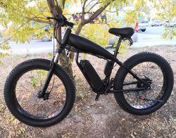 26 بوصة أفضل تصميم رخيصة الفولاذ الدهن الكهربائية الدهن الدراجة خارج الطريق مع عجلات ذات قضبان للبيع الدراجات الجبلية الكهربائية ذات التعليق الكامل