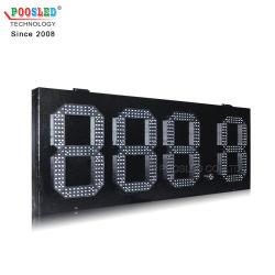 يوفر المصنع مباشرة مؤشر LED للإشارة إلى سعر الغاز 888.8 توقيع محطّة بنزين عرض أسعار الغاز