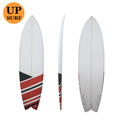 De Surf profesional colorido PU corto las tablas de surf
