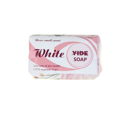 L'origine végétale naturelle de gros de soins de la peau rose savon parfumé bain