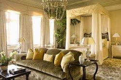 Hotel Casa Madera Muebles de dormitorio cama con dosel hermosas y románticas