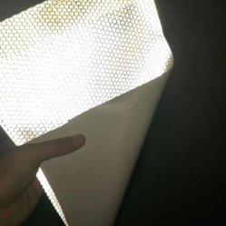 Flex réfléchissant Honeycomb 340G, 200d*300d, 18*12 pour le solvant de l'impression