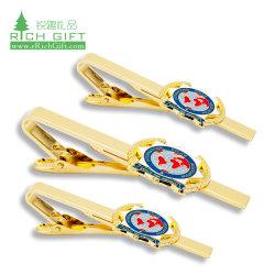 Les fabricants de gros gravée de métal blanc maçonnique Bus d'ancrage Skinny Gun Or Rose Cufflink Tie Clips lunettes d'avion personnalisé défini Cravate avec logo personnalisé