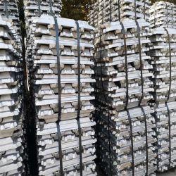 Haut de la pureté de 99,7%lingot d'aluminium de haute qualité A7 Lingots d'aluminium