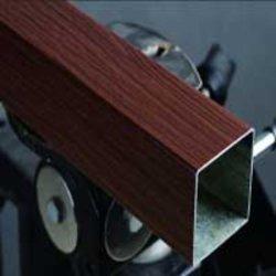 Зерно из дерева и бумаги пленочного покрытия алюминия для двери и окна