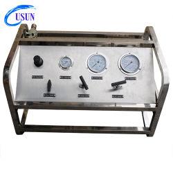 Usun 모델: 산소/질소/CO2 실린더 보충용 US-GBD 공기 가스 압력 부스터 펌프 시스템