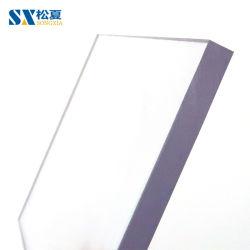 8 مم جدار صوت شفاف ومسطّح على ورقة الكمبيوتر الشخصي الشفافة