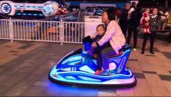 Máquina de juego eléctrico exterior patio de recreo infantil paseo en coche eléctrico de los niños