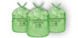Высокое качество низкая цена HDPE LDPE кукурузный крахмал мире биоразлагаемую бутылку для поддающихся биохимическому разложению медицинских домашних больших больших куриных высокие корзины черного цвета пластиковые мешки для мусора