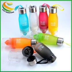 Портативные H2O фрукты Infuser бутылка воды с лимоном бутылка воды PC фруктовый сок Infuser расширительного бачка
