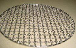 Корпус из нержавеющей стали оцинкованной раунда барбекю барбекю гриль проволочной сетке Net