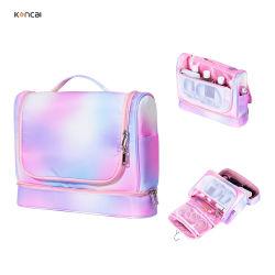 Koncai nouvelle beauté étanche pendaison maquillage rose Sac de Toilette sèche-cheveux de stockage de l'outil Sac cosmétique
