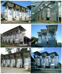 Fermentador biológico de acero inoxidable de 300t/día de los recursos de proyectos de reciclaje de lodos municipales