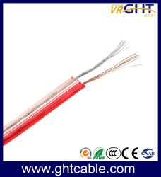 Haut-parleur Câble /Transparent / (CCA 2X0.5mmsq Conductor)