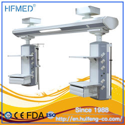 Instrumentos laparoscópicos Húmedo Seco separado de la ICU cama de hospital de la unidad de pared