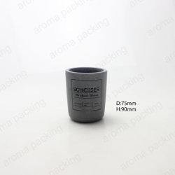 Commerce de gros de ciment gris pierre naturelle écologique bougie Cup porte-bougie