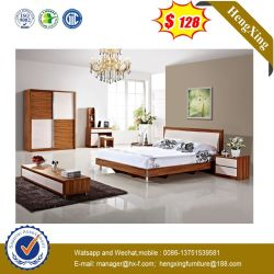 Insiemi della mobilia della camera da letto del gemello dell'hotel di colore chiaro del MDF di modo (UL-CH002)