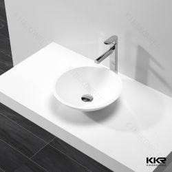 Novo modelo de Design Personalizado Tamanho Pequeno banheiro de superfície sólida Lavatório