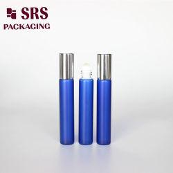Het schilderen van het Blauwe Flessenglas van het Parfum van de Kleur 8ml Voor de Zorg van de Huid