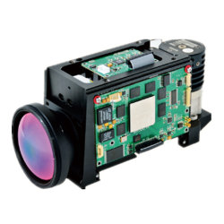 Hg640CIR60によって冷却される赤外線熱画像の高いStablizationの夜間視界のカメラ