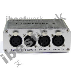 4ports DMX Artnetのコントローラ