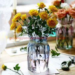 Декоративные цветные стекла ваза цветов очистить стекло изображение большего размера
