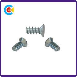 Carbon Steel4.8/8.8/10.9 패스너 플라워 카운터싱크 머리 셀프 태핑 나사 주방/캐비닛/가구용