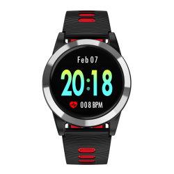 """Nieuwe Aankomst 1.3 """" IPS het Grote Scherm Ipx67 van de Aanraking van de Kleur maakt Band van de Pols van de Sporten van de Riem van de Kleur van de Horloges TPU van Bluetooth van Mensen de Dubbele Trillende waterdicht"""
