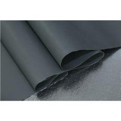 A resistência ao calor em fibra de vidro revestido de silicone em Face dupla Pano de protecção contra incêndio