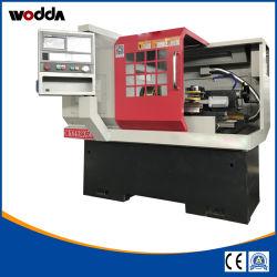 Processamento de metal horizontal inclinado Bed tornos CNC