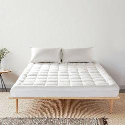 ホテルのマットレスパッドのための快適なベッドの綿のマットレスの保護装置