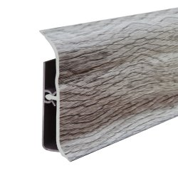 Neue Produkt-Plastikbodenbelag-Profil-Fliese-Polystyren-Schaumgummi-Sockelleisten-Farbe Belüftung-SchaumgummiBaseboard