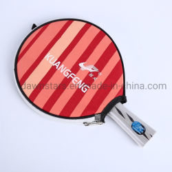 Het Pingpong van de Knuppel van de pingpong met de Zak die van de Verpakking wordt geplaatst