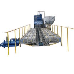 エチオピアの機械発泡スチロールEPSの壁のボードの生産ラインセメントベースパネルの成形機を作る軽い合成のウォールボード