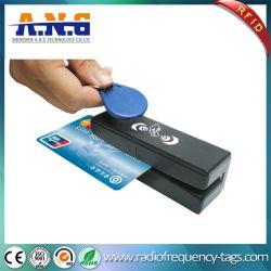 자석 줄무늬와 RFID 카드 결합 RFID 독자