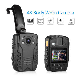 Cuerpo de Policía de alta definición de seguridad de la cámara grabadora grabadora de vídeo videocámara portátil DVR cámara de bolsillo de seguridad WDR