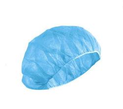 Red Hat desechables para cirugía Hat Tipo de clip de la cabeza de la FDA pliegues Non-Woven buena enfermera FFP3 la calidad y el polvo Anti-Bacterial Tapa protectora del cabello rizado con ropa de trabajo