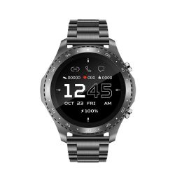 ساعة SmartWatch الرياضية الجديدة التي يمكنها قياس درجة الحرارة ومعدل نبضات القلب مراقبة مكالمات Bluetooth وكشفها