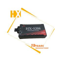 10/100/1000 MB 8108のイーサネット光学か視覚のファイバーの有線放送網FTTX媒体のコンバーター