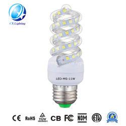 2020 CE RoHS 2U 3U 省エネルギースパイラル LED CFL コーンバルブランプライト