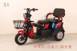 Elektrische AutoRiksja Met drie wielen met lage snelheid voor Oude Personen