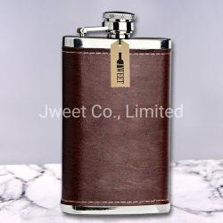 Kundenspezifische Edelstahl-Flaschen-Hip Kolben und Trichter-Set