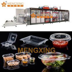 PP/PVC/PET Bac automatique de la plaque de jetables// Pan/ Box// conteneur en plastique du couvercle du bac machine de thermoformage Making Machine Machine de traitement de plastique
